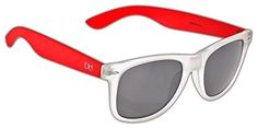 Dice Sonnenbrille, Clear Hot Red, One size, D05214-2