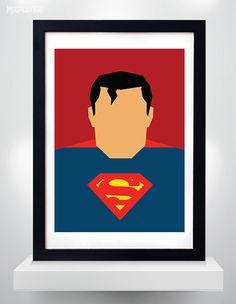 Superman poster, Minimalist Print, Superhero Poster, Wall Art, Art Print, Wall Decor, Digital Art by MixPosters on Etsy https://www.etsy.com/listing/220510246/superman-poster-minimalist-print