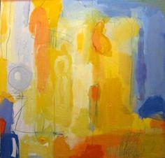 """Saatchi Art Artist Deborah van der Zaag; Painting, """"Morning Ride"""" #art"""