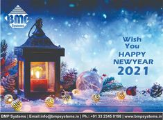 Wish You Happy New Year 2021