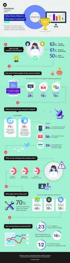 Dia de Infografias: Estrategias digitales que funcionan para empresas B2B