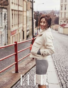 Hwang Jung Eum in Prague for Elle Korea and Confirms February 2016 Nuptials to Non-industry Fiancé | A Koala's Playground