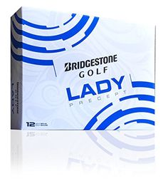Bridgestone Golf 2015 Lady Precept Golf Balls (Pack of 12), White