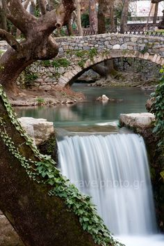 Kria in Livadeia Greece/ is my hometown. Travel Sights, Travel Destinations, Greek Beauty, All Nature, Beautiful Waterfalls, Greece Travel, Countries Of The World, Cool Places To Visit, Beautiful Places