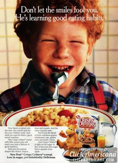 Post Crispy Critters cereal (1987)