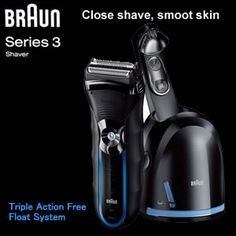 Braun Series 3- Electric shaver 350cc 4R + cleaning cartridge (充電式電気シェーバー) Father's day, male grooming, shavers & trimmers, personal care & beauty 0