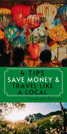 4 Tips to Save Money and Travel Like a Local #travellikealocal #traveltips #moneysavingtraveltips #livelikealocal Travel Money, Budget Travel, Travel Tips, Travel With Kids, Family Travel, Like A Local, Romantic Getaways, Travel Deals, European Travel