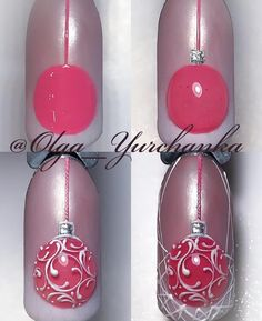 """If you're unfamiliar with nail trends and you hear the words """"coffin nails,"""" what comes to mind? It's not nails with coffins drawn on them. It's long nails with a square tip, and the look has. Nail Art Noel, Xmas Nail Art, Xmas Nails, New Year's Nails, Holiday Nails, Cool Nail Art, Christmas Nails, Fun Nails, Christmas Ornament"""