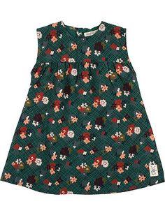 Small Rags: Zuckersüßes Kleid für kleine Girls. Besonders schön durch die A-Shape und das erstklassig verarbeitete Material. http://www.mawaju.de/small-rags-girls-kleid-vasa-bistro-green-60109-0492.html