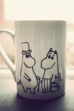 These were crazy expensive in Finland but I wish I would have splurged and gotten it then. Moomin mug by Mr Teacup by MrTeacup on Etsy, $30.00