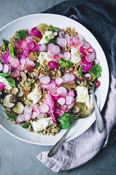 Mediterranean Five-Grain Rainbow Salad | Green Kitchen Stories | Bloglovin'