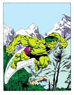 The Incredible Hulk # 314 by John Byrne and Bob Wiacek.