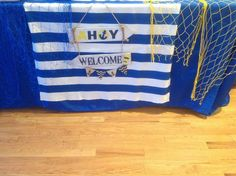 Nautical Baby Shower Party Ideas | Photo 12 of 23 | Catch My Party