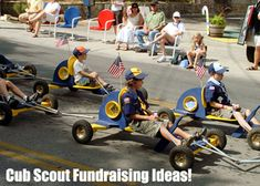 Cub Scout Fundraising Ideas