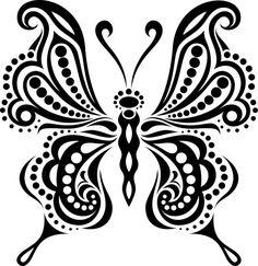 Wood Burning Patterns, Wood Burning Art, Butterfly Template, Butterfly Pattern, Butterfly Drawing, Drawings Of Butterflies, Butterfly Stencil, Silhouette Art, Dot Painting