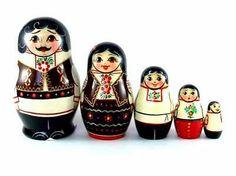 Russian Nesting Dolls Moldova New Set 5 PSC Matryoshka | eBay