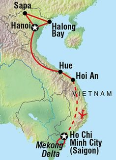 Southeast Asia Map  2 week 2 month  1 year itineraries