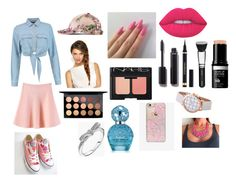 """""""Cute"""" by dianamarierg on Polyvore featuring moda, Gucci, WithChic, Chanel, Yves Saint Laurent, MAC Cosmetics, Lime Crime, NARS Cosmetics, Marc Jacobs y Skinnydip"""