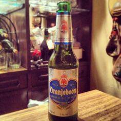 Oranjeboom... Dutch beer