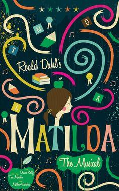 Roald Dahl's Matilda.