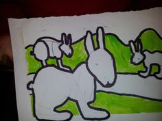 a lovely rabbit from our Thursday after-school Art Club