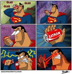 I'd like to give the world a Coke & share it with....Nooooo! #365daysofsuperman #manofsteel #superman #dccomics #superhero #supermanadventures #smallville #metropolis #dailyplanet #clarkkent #kalel #krypton