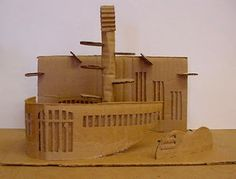 Art Lesson Plans: Corrugated Cardboard Sculpture Lesson