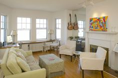 993 Memorial Drive - top floor 1-br, 1-bath with views of the Charles River. CharlesCherney.com