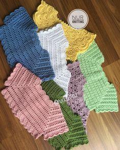 Diy Crafts - - Her Crochet Col Crochet, Crochet Baby Bibs, Crochet Vest Pattern, Crochet Toddler, Crochet Motifs, Crochet Girls, Crochet Baby Clothes, Crochet For Kids, Baby Knitting