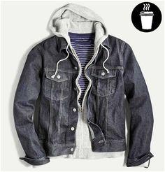 hoodie + jacket
