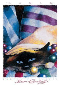 Laura Seeley designy - Feline Fantasies