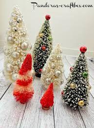 Image result for bottle brush tree decoration