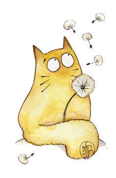 Pfffftttt.... by Maria van Bruggen    Wishful kitty
