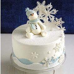 Silicone Fondant Mould Cake Decorating Mold Sugarcraft Snowflake Christmas