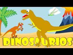 Dinosaurios para niños - Sonidos y nombres de Dinosaurios - YouTube