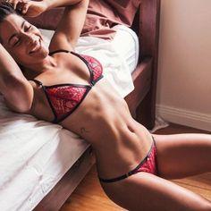 Women Sexy Lace Lingerie Babydoll G-string Thong Underwear Nightwear 2pcs Set Regular M L Xl Xxl Red China