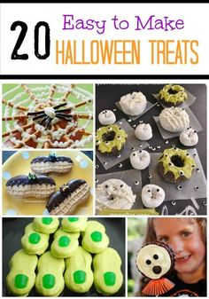 Creations by Kara: Easy Halloween Treats for Class Parties