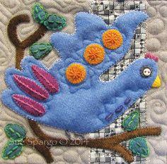 1908279_687425567968001_1892482729_n.jpg 825×818 pixels from Sue Spargo's Bird Book