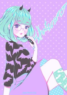 "Pastel Goth ""Whatever~"""