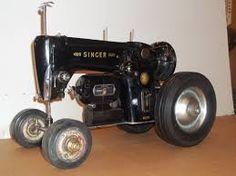 Resultado de imagen para sewing machine tractor
