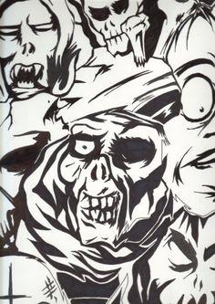 multi faces by noodleboy88 on DeviantArt