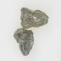 Uncut Irregular Shape 1.14 Ct Silver  Color Rough Natural Diamond Lot