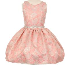 Girls Pink White Floral Rose Lace Overlay Dancewear Skirt 2-12