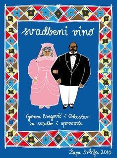 illustrations / wine brand Bregovic / www.aniakruk.com