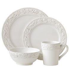 4 Piece Charleston Dinnerware Set...I love it!