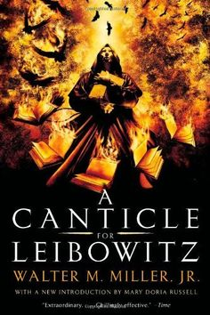 A Canticle for Leibowitz by Walter M. Miller Jr. weirdly mesmerizing,, thought provoking, chilling. This book has been in print for over 60 years, it's message is more true now than ever.