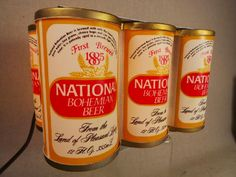National Bohemian BO Beer Can Light Up Six Pack