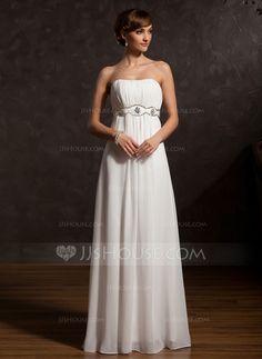 Mother of the Bride Dresses - $136.99 - Empire Sweetheart Floor-Length Chiffon Mother of the Bride Dress With Ruffle Beading (008015129) http://jjshouse.com/Empire-Sweetheart-Floor-Length-Chiffon-Mother-Of-The-Bride-Dress-With-Ruffle-Beading-008015129-g15129?snsref=pt&utm_content=pt
