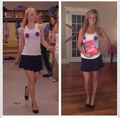 Cute pretty woman diy costume diy costumes pretty woman and costumes regina george diy halloween costume solutioingenieria Image collections
