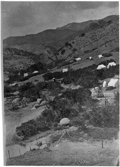 Near the Cliff House ~ Manitou Springs Colorado ~ 1880